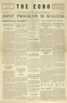 Taylor University Echo: September 26, 1928 by Taylor University