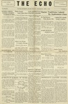 Taylor University Echo: April 3, 1929 by Taylor University