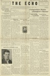 Taylor University Echo: April 17, 1929 by Taylor University