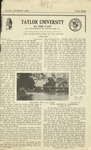 Taylor University Echo: May 1, 1929 by Taylor University