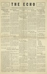 Taylor University Echo: May 8, 1929 by Taylor University
