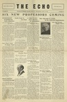 Taylor University Echo (May 29, 1929) by Taylor University
