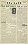 Taylor University Echo: October 2, 1929
