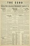 Taylor University Echo: October 9, 1929