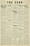 Taylor University Echo: October 16, 1929
