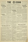 Taylor Univesity Echo: November 13, 1929 by Taylor University