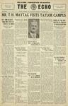 Taylor University Echo: November 20, 1929 by Taylor University