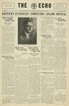 Taylor University Echo: January 15, 1930 by Taylor University