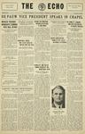 Taylor University Echo: January 22, 1930 by Taylor University