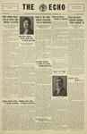 Taylor University Echo: February 26, 1930 by Taylor University