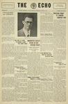 The Echo: March 19, 1930 by Taylor University