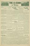 The Echo: April 2, 1930