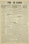 Taylor University Echo: May 1, 1930 by Taylor University