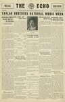 The Echo: May 8, 1930 by Taylor University