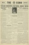 Taylor University Echo: May 8, 1930 by Taylor University