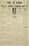 The Echo: May 15, 1930 by Taylor University