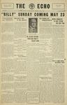 Taylor University Echo: May 15, 1930 by Taylor University