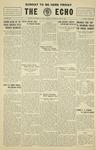 Taylor University Echo: May 21, 1930 by Taylor University