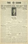 Taylor University Echo: May 29, 1930 by Taylor University