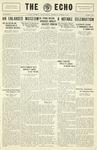 The Echo: October 8, 1930