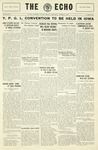 Taylor University Echo: October 15, 1930