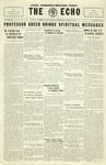 Taylor University Echo: October 29, 1930