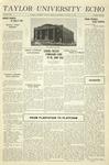 Taylor University Echo: January 21, 1931 by Taylor University