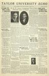Taylor University Echo: March 25, 1931