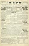 Taylor University Echo: April 1, 1931
