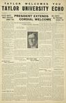 Taylor University Echo: September 10, 1931 by Taylor University