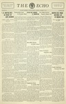 Taylor University Echo: October 13, 1931