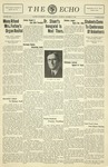 Taylor University Echo: October 27, 1931 by Taylor University