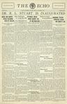 Taylor University Echo: November 3, 1931 by Taylor University