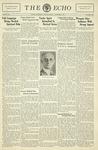 Taylor University Echo: November 17, 1931 by Taylor University