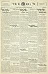 The Echo: November 24, 1931 by Taylor University
