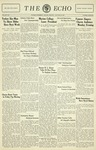 Taylor University Echo: January 20, 1932 by Taylor University