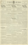 Taylor University Echo: March 23, 1932 by Taylor University