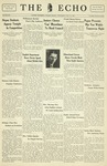Taylor University Echo: May 18, 1932 by Taylor University
