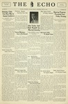 The Echo: September 28, 1932 by Taylor University