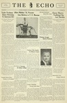 The Echo: October 26, 1932 by Taylor University