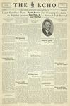 Taylor University Echo: November 2, 1932