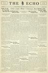 Taylor University Echo: January 26, 1933 by Taylor University