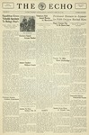 The Echo: February 15, 1933 by Taylor University