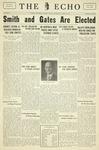Taylor University Echo: April 26, 1933 by Taylor University