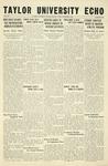 Taylor University Echo: October 6, 1933 by Taylor University