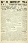 Taylor University Echo: November 17, 1933 by Taylor University