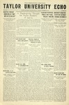 Taylor University Echo: November 28, 1933 by Taylor University