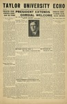 Taylor University Echo: September 15, 1933 by Taylor University