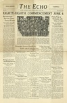 The Echo: June 1, 1934 by Taylor University