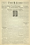 The Echo: February 25, 1935 by Taylor University